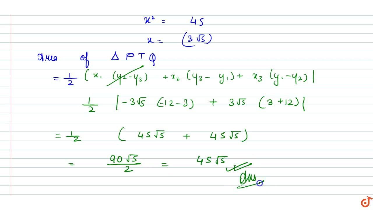 Solution for Tangents are drawn to the hyperbola 4x^2-y^2=36