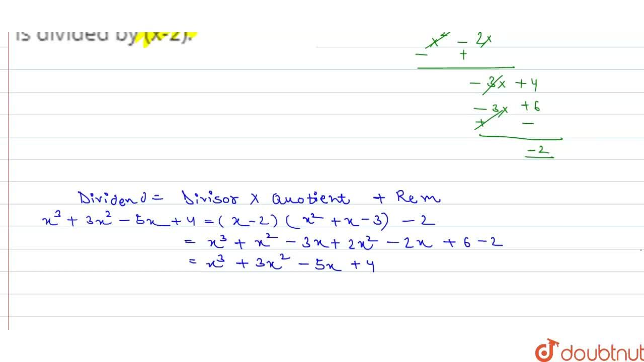 Solution for Using remainder theorem, find the  remainder when