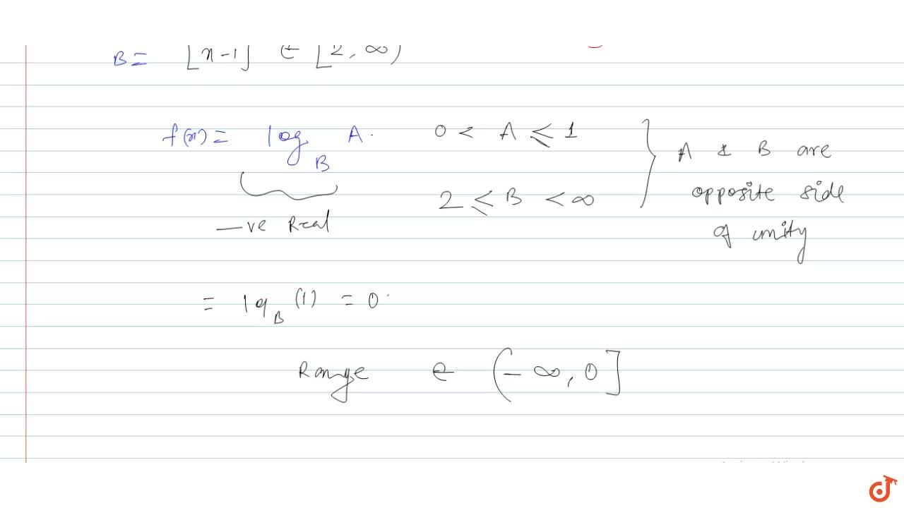 Solution for f(x)=log_([x-1]) sin x, where [ . ] denotes the