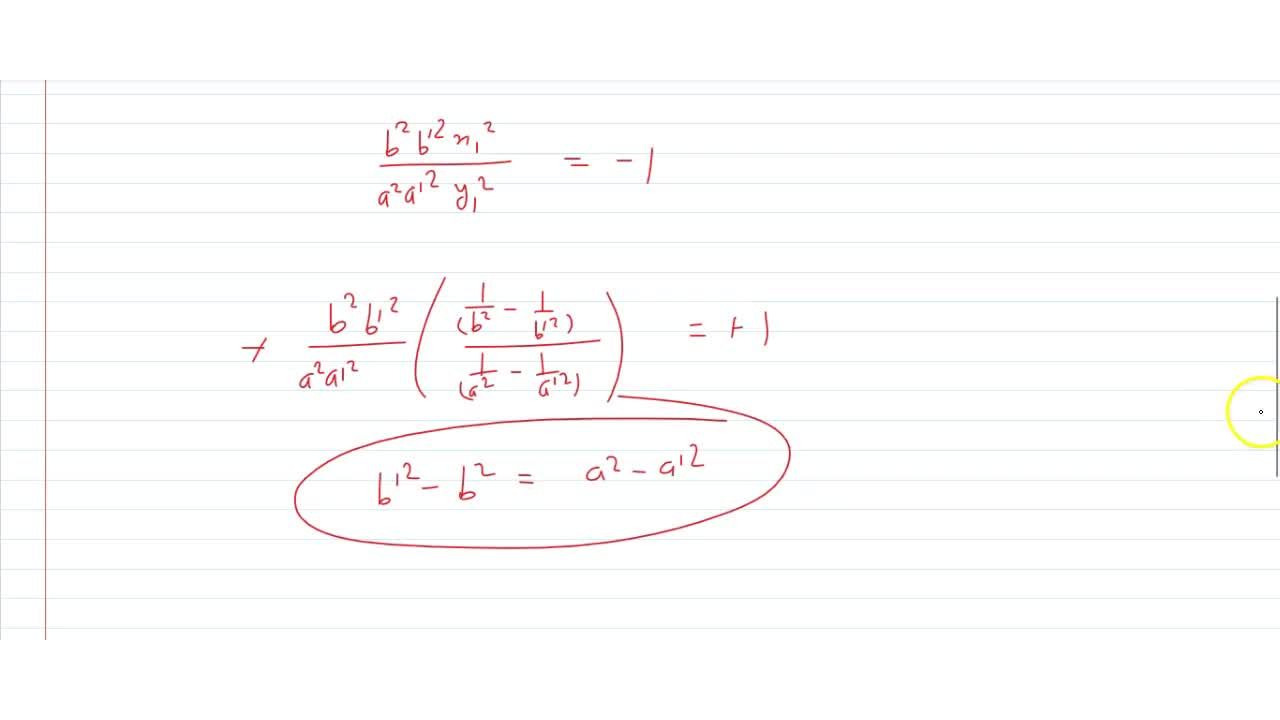 Solution for Prove that the curve (x^2),(a^2)+(y^2),(b^2)=1(x^