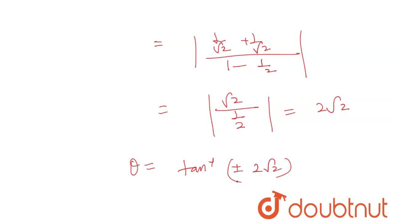 """Solution for The angle at which the curves y=sinx  """" and """" y="""