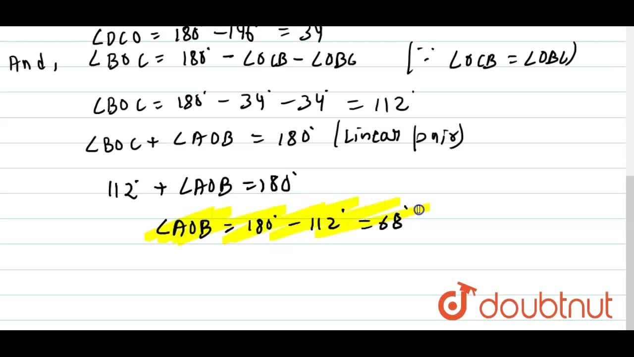 In Figure, A B C D is a rectangle in which