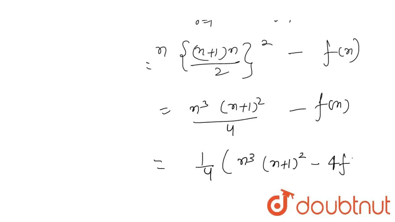 If f(n)=sum_(r=1)^(n) r^(4), then the value of sum_(r=1)^(n) r(n-r)^(3) is equal to