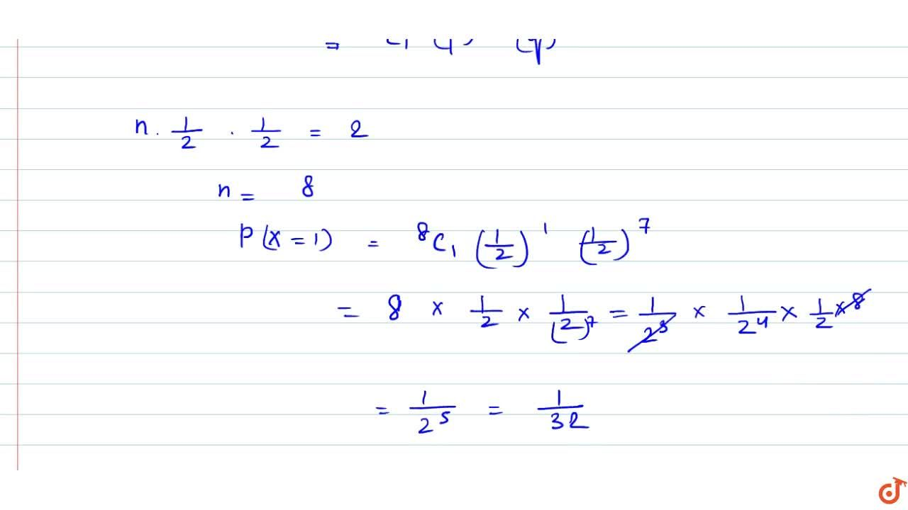 Solution for The mean and variance of a random variable X havin