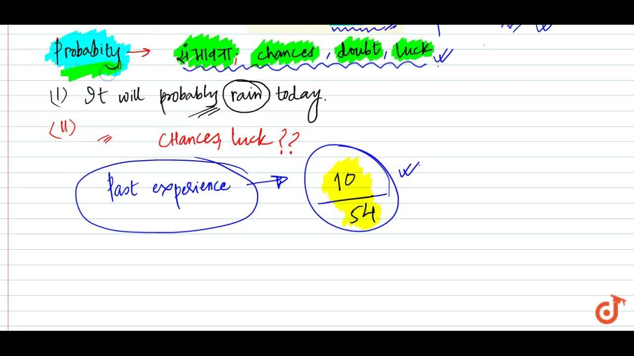 Solution for Definition of probability