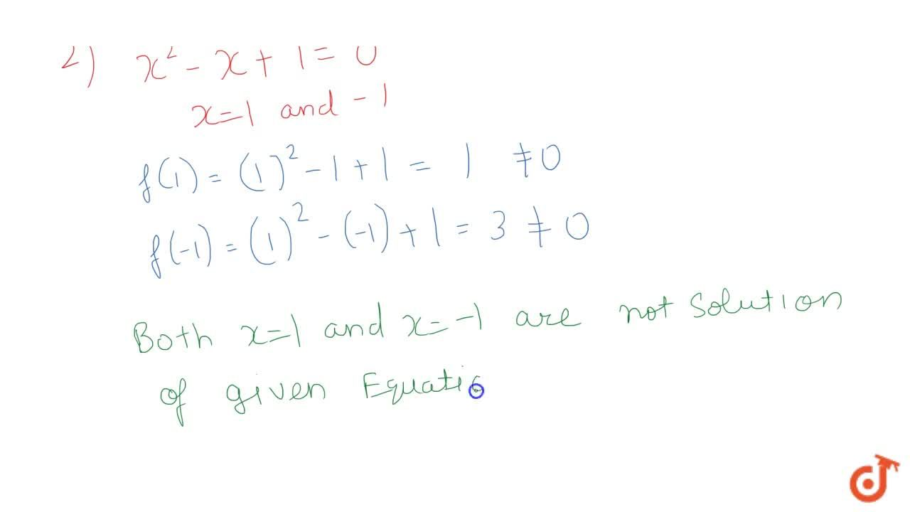 Solution for Determine whether the given values are the solutio