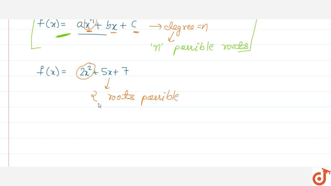 Solution for Zeros or roots of polynomial