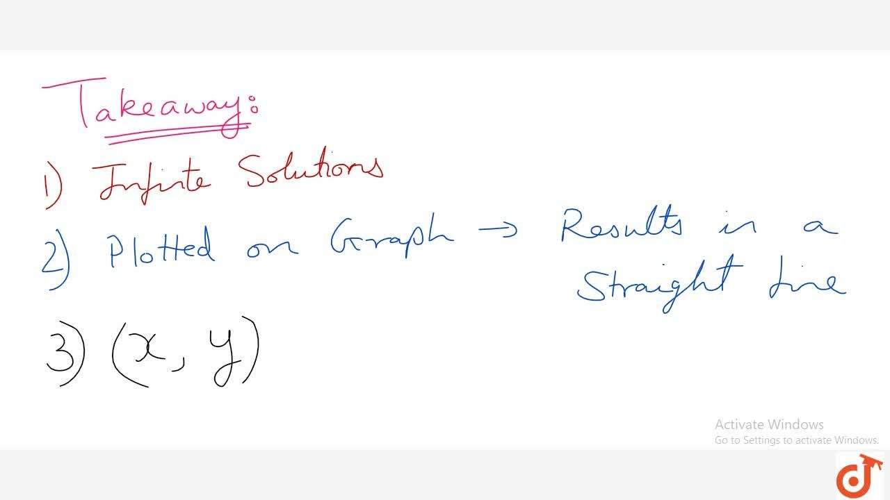 Solution for Solution of Equation with two variable