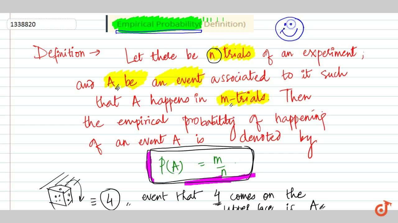 Solution for Empirical Probability( Definition)