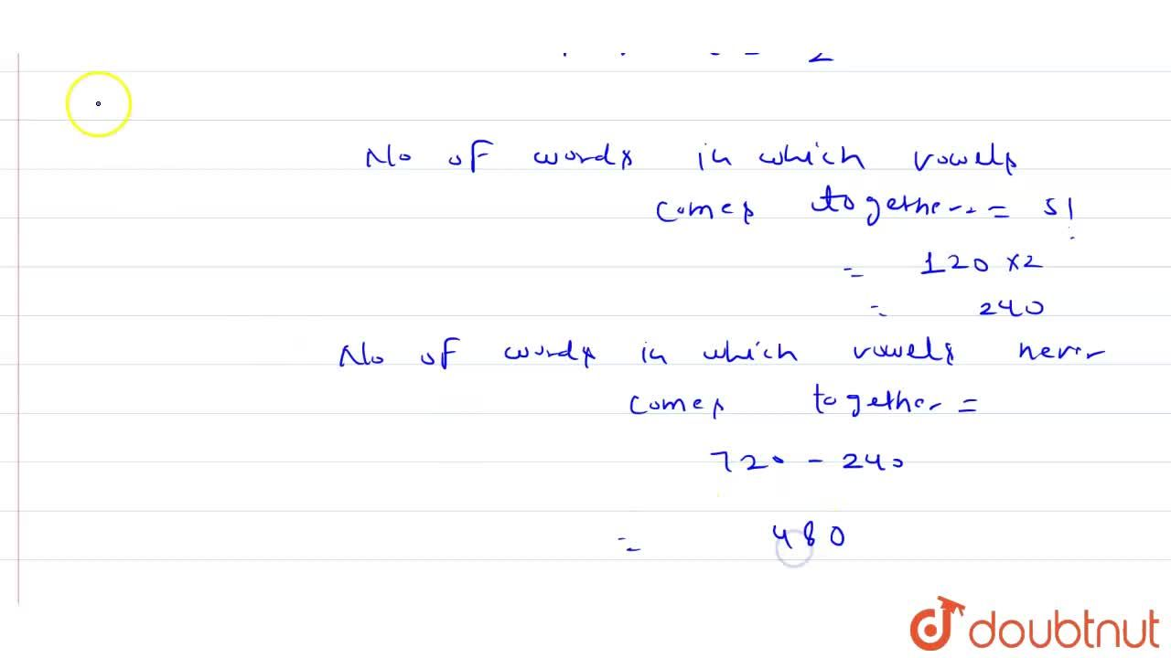 Solution for In how many arrangements of the word  'GOLDEN' wil