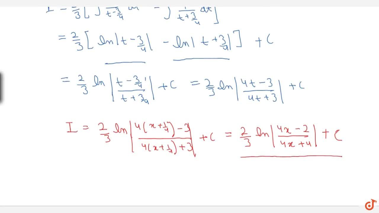 Solution for Examples: 1 , (2x^2 + x - 1) dx