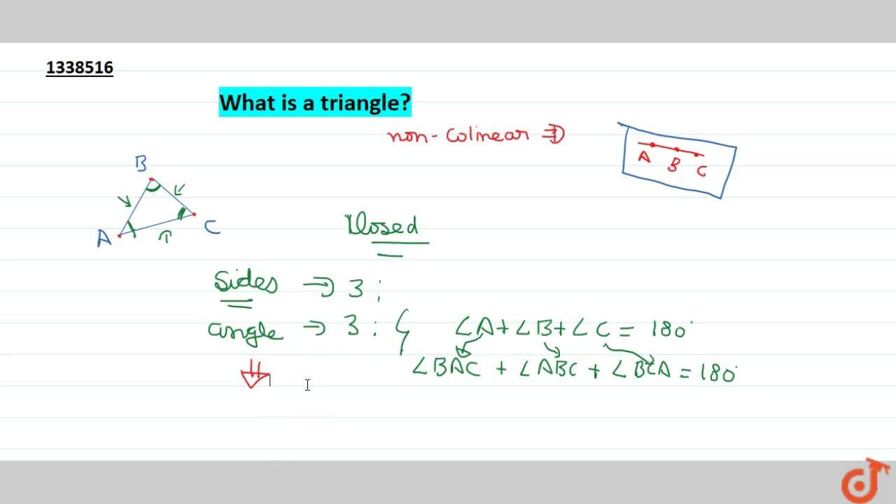 What is triangle?