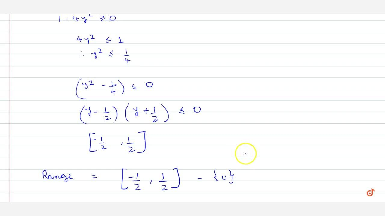 Find Domain and Range of real functions (1) f(x)=(x-2),(3-x) (2)f(x)=1,sqrt(x-5) (3) f(x)=x,(1+x^2)