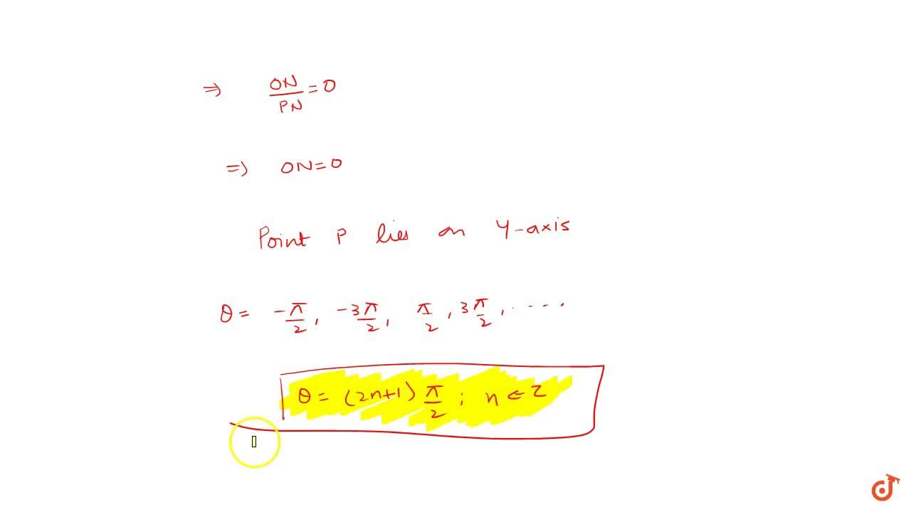 Solution for (iii)Prove that general solution of tan theta=0