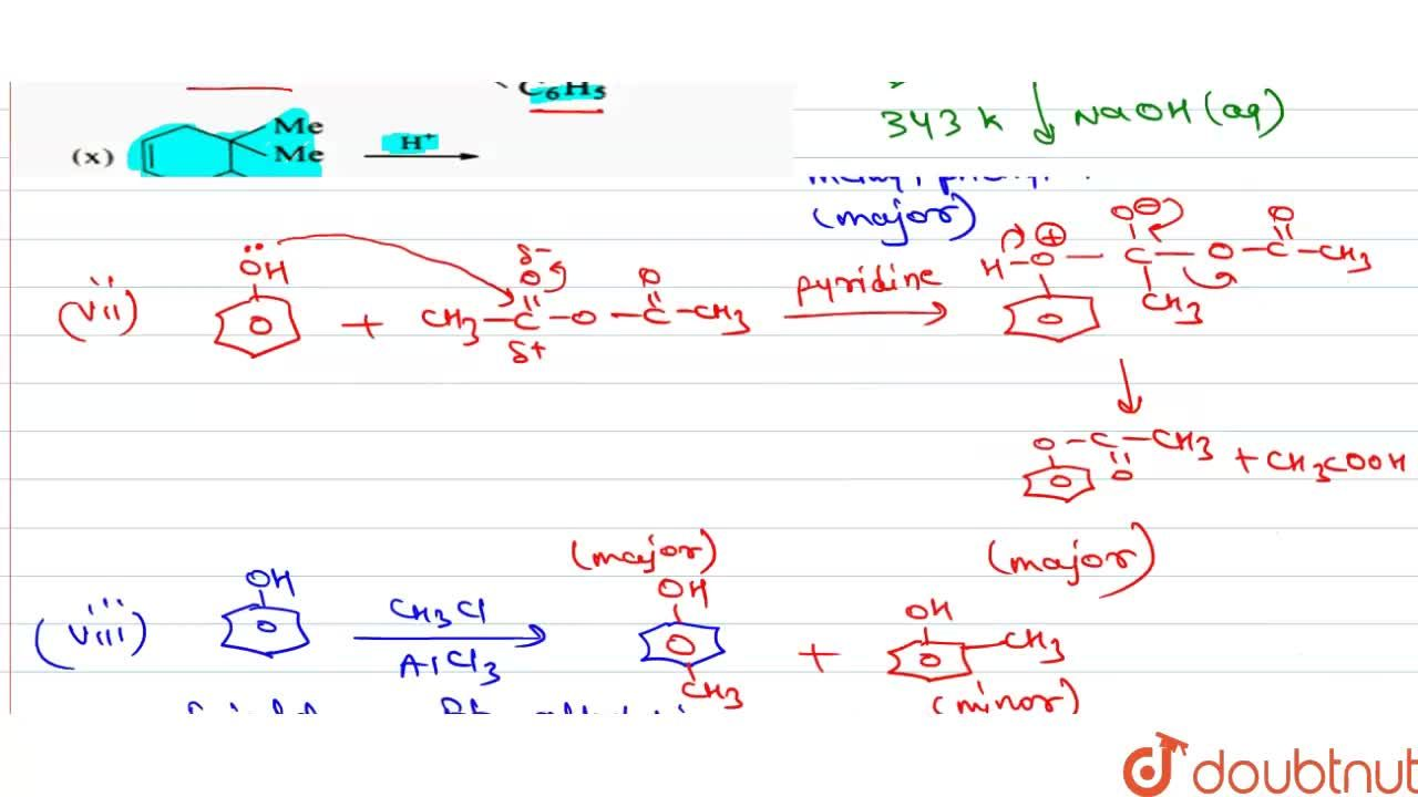 Solution for Complete the following equations : <br> (i) C_(