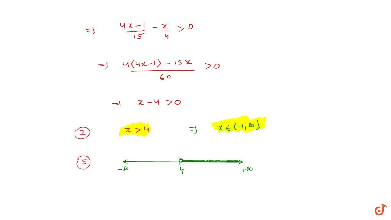 Solution for Solve (i) 3x+17<=2(1-x), (ii) ((5x-2),3)-((7x-3),