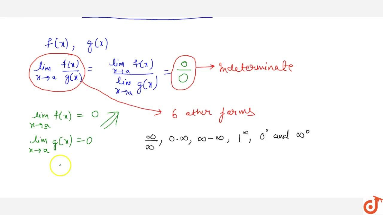 Solution for Introduction of all indeterminate forms