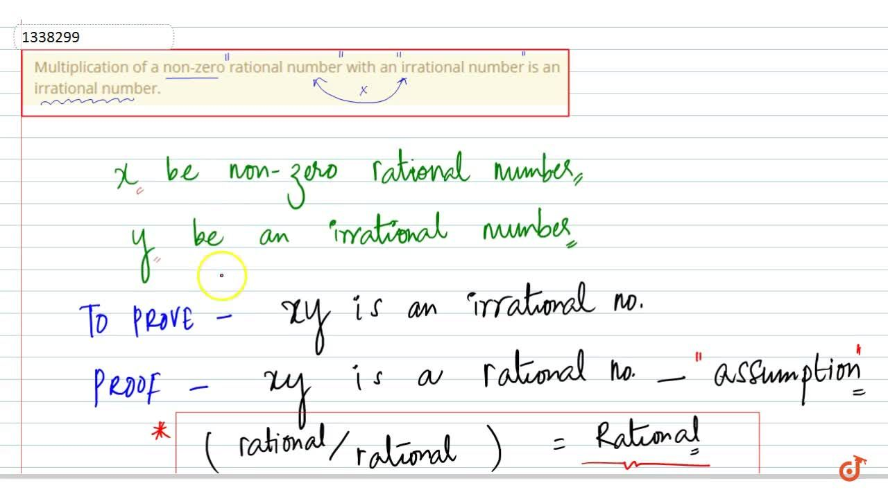 Solution for Multiplication of a non-zero rational number with