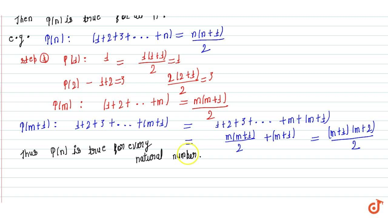 Solution for Second principal of mathematical induction