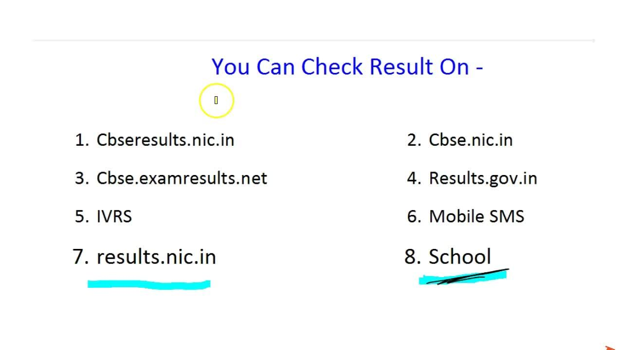 CBSE CLASS 10th BOARDS RESULT DATE | 8 Ways to Check RESULT