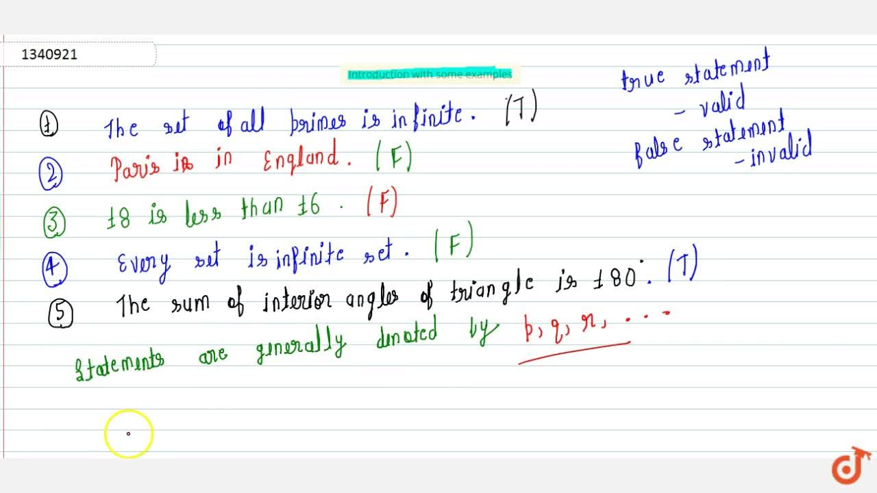 Introduction with some examples