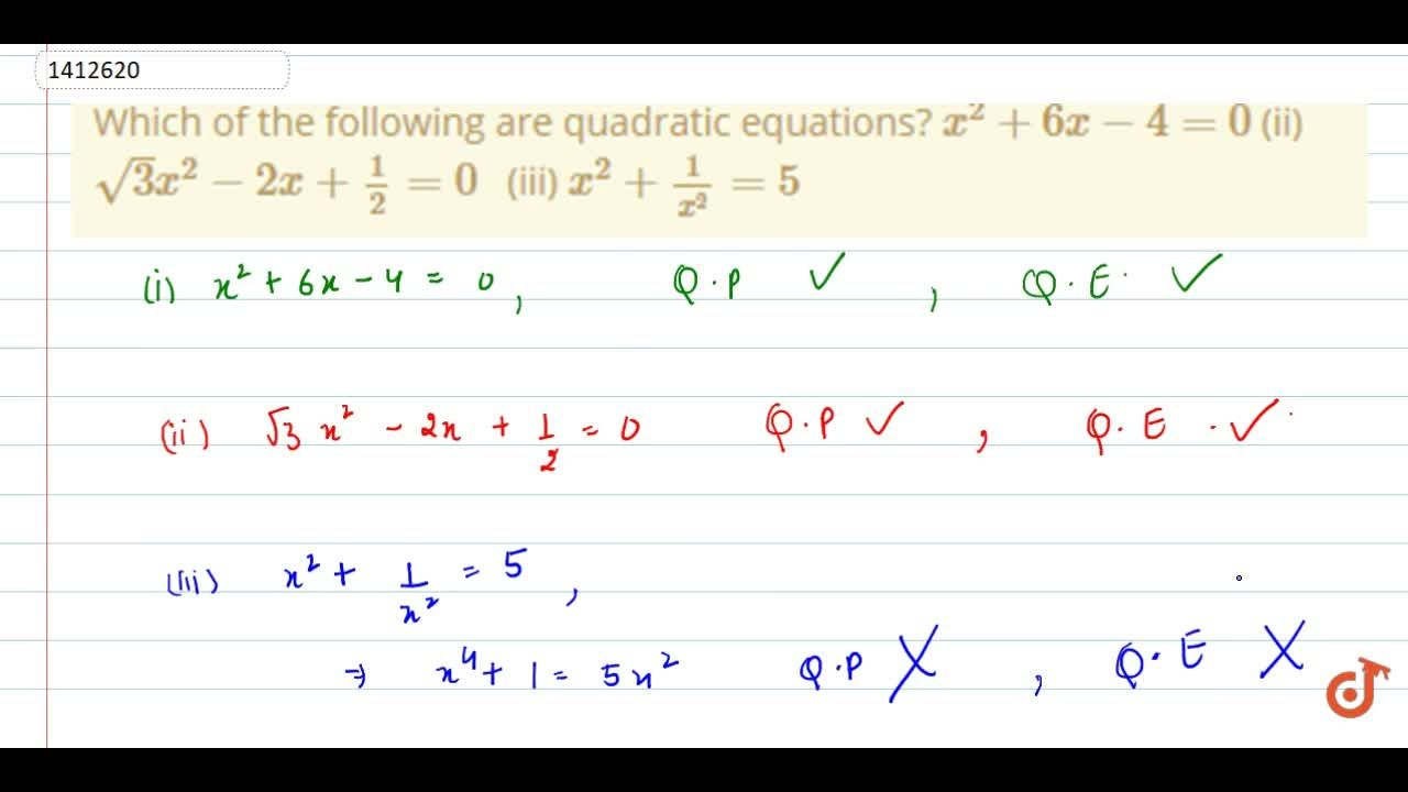 Which of