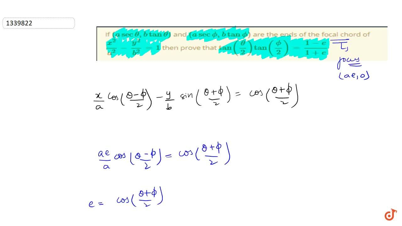 Solution for If (asectheta,btantheta) and (asecphi,btanphi)