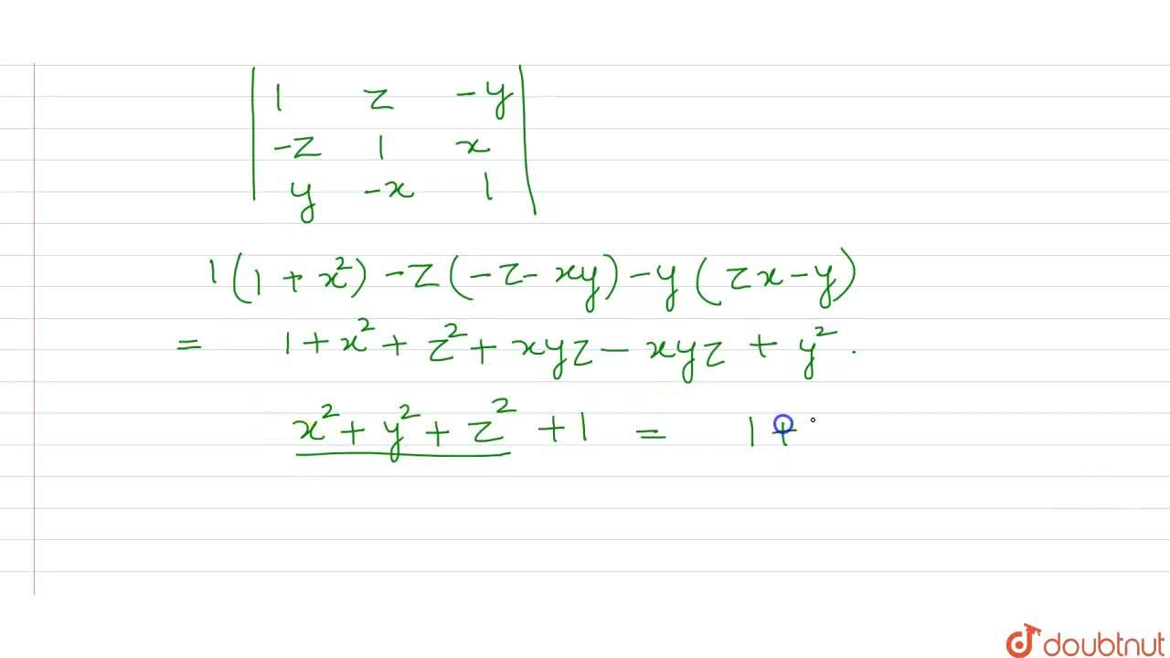 Solution for If x^(2)+y^(2)+z^(2)=1, then what is the value o