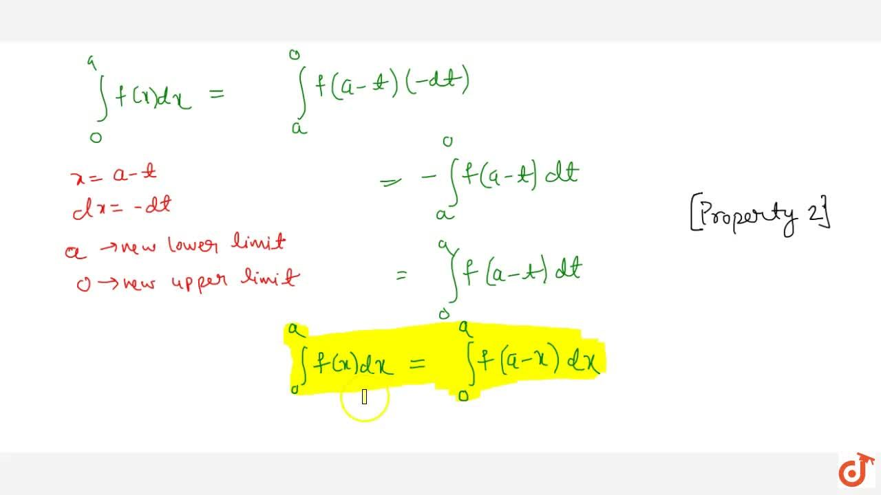 Solution for Property 5: If f(x) is a continuous function def