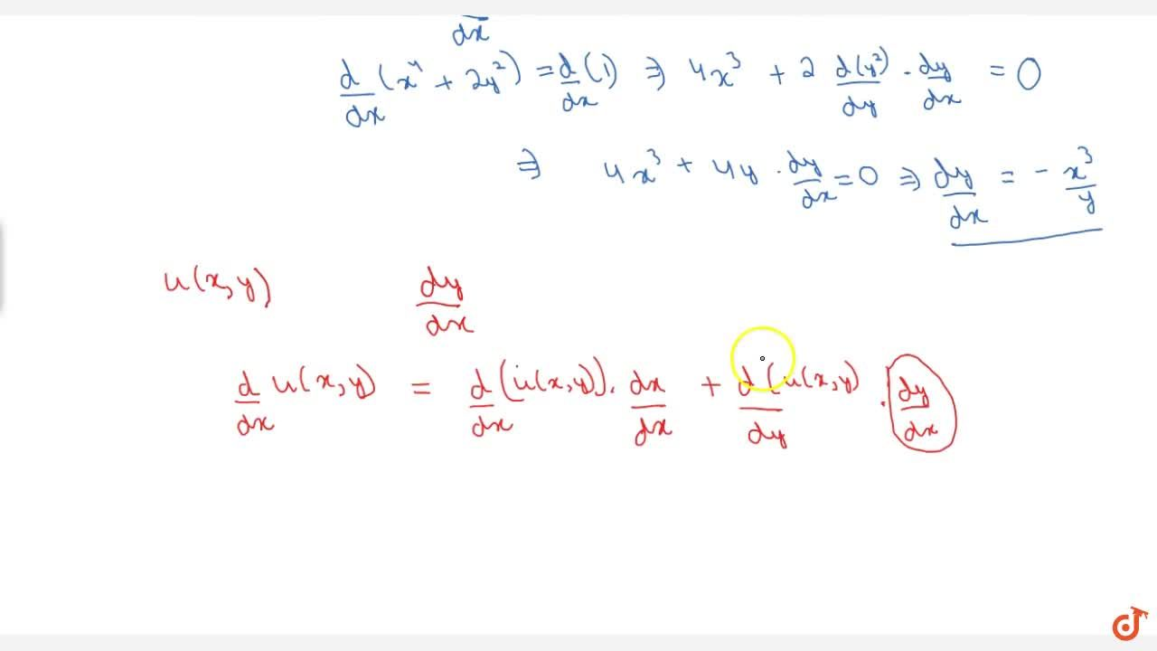 Differentiation Of Implicit Functions