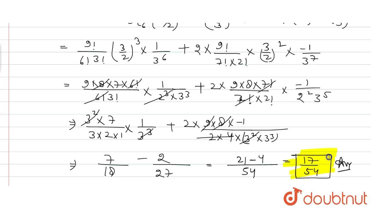 find the term independent of 'x' in the expansion of (1+x+x^2)(3,2 x^2 - 1,(3x))^9