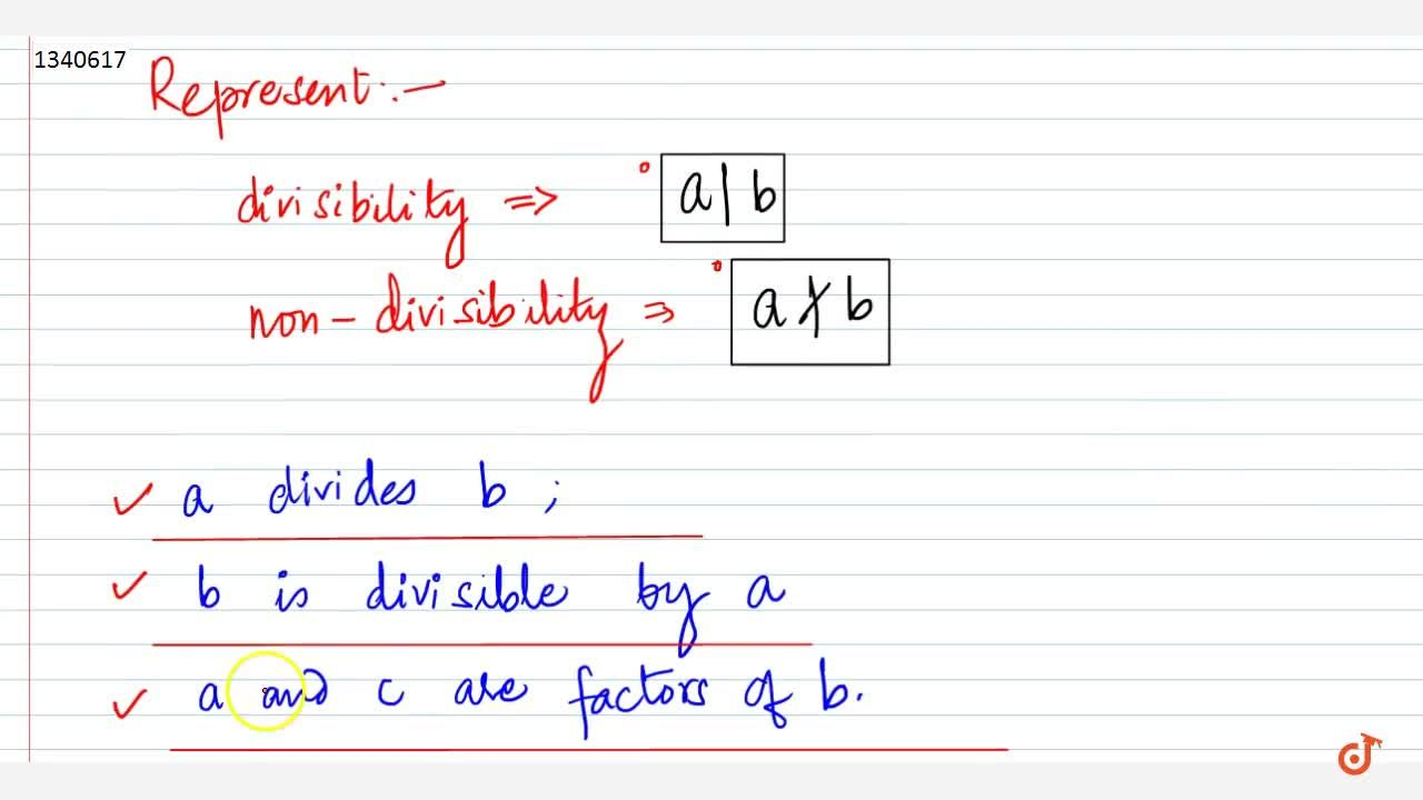 Solution for Properties of Divisibility