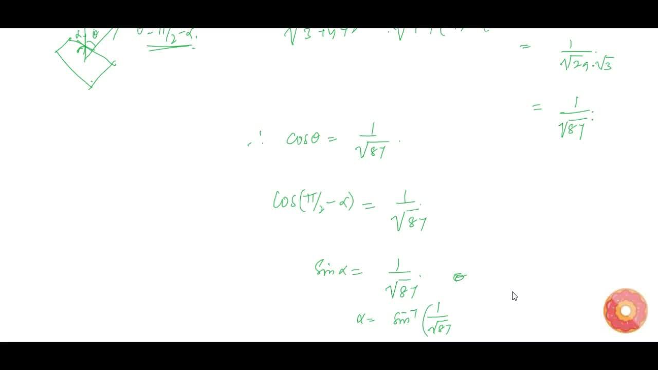 Solution for Find the coordinates of the point, where the line