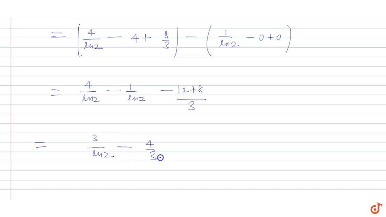 Calculate the area of the region bounded by thr curves x=log_2y , y=2x-x^2 and the lines x(x-2)=0.